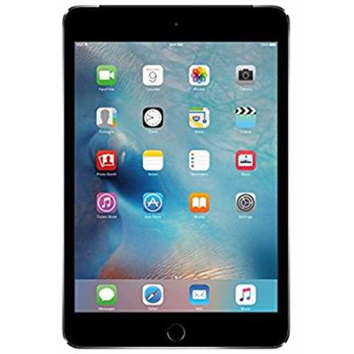 Refurbished Apple iPad mini 4 (16GB, Wi-Fi + Cellular, Space Gray)