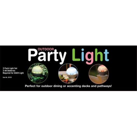 Beacon Power 30130 3 Pack Outdoor Party Light Case Of 4