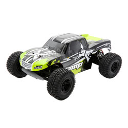 ECX 03028T2 1/10 AMP MT 2wd Monster Truck: Black/Green Ready-to-Run