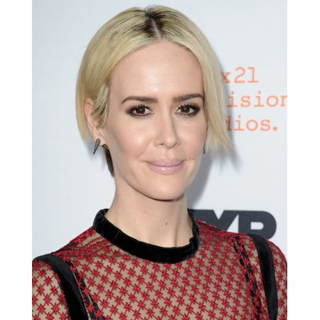 Sarah Paulson At Arrivals For The People V Oj Simpson American Crime Story Event Rolled Canvas Art     8 X 10