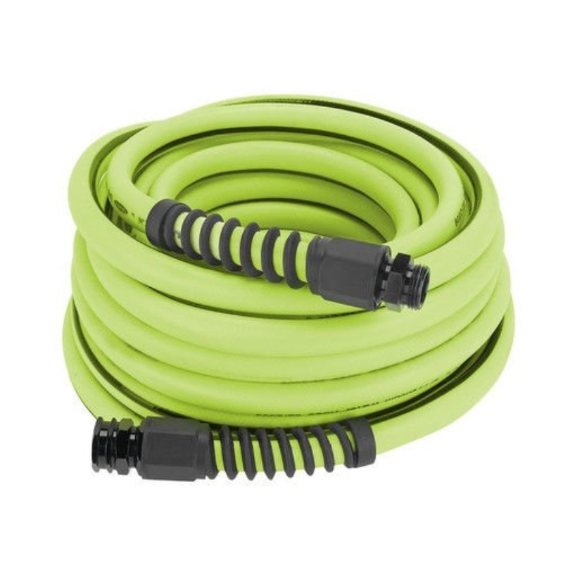 Flexzilla Pro Water Hose with Reushle Fittings, 5/8 in. x 50 ft., Heavy Duty, Lightweight, Drinking Water Safe - HFZWP550