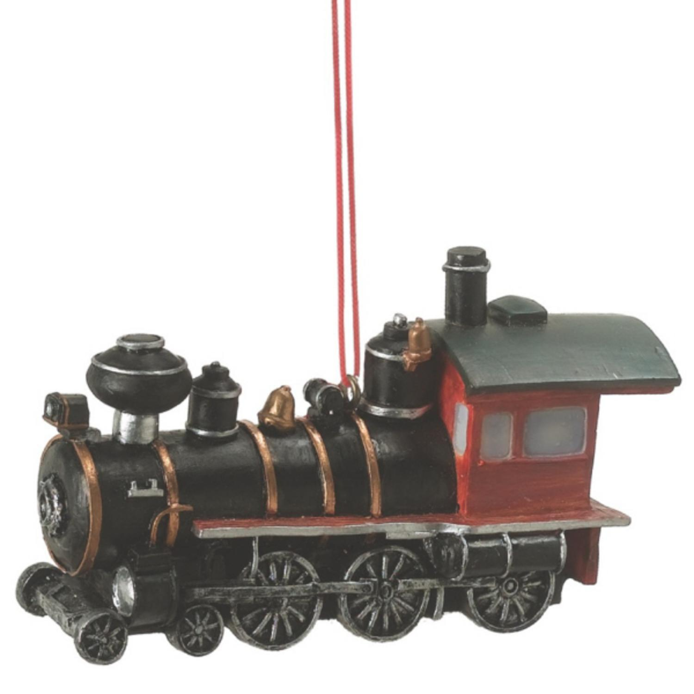 "3.5"" Old Fashioned Steam Locomotive Train Christmas Ornament"