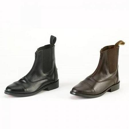 Equistar   Ladies Zip Paddock Boot  All Weather  7 Black