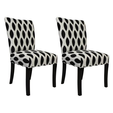 SOLE Designs Julia Collection Dining Chairs, A Set of 2 ...