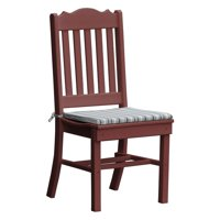 Radionic Hi Tech Oxford Recycled Plastic Royal Patio Dining Chair
