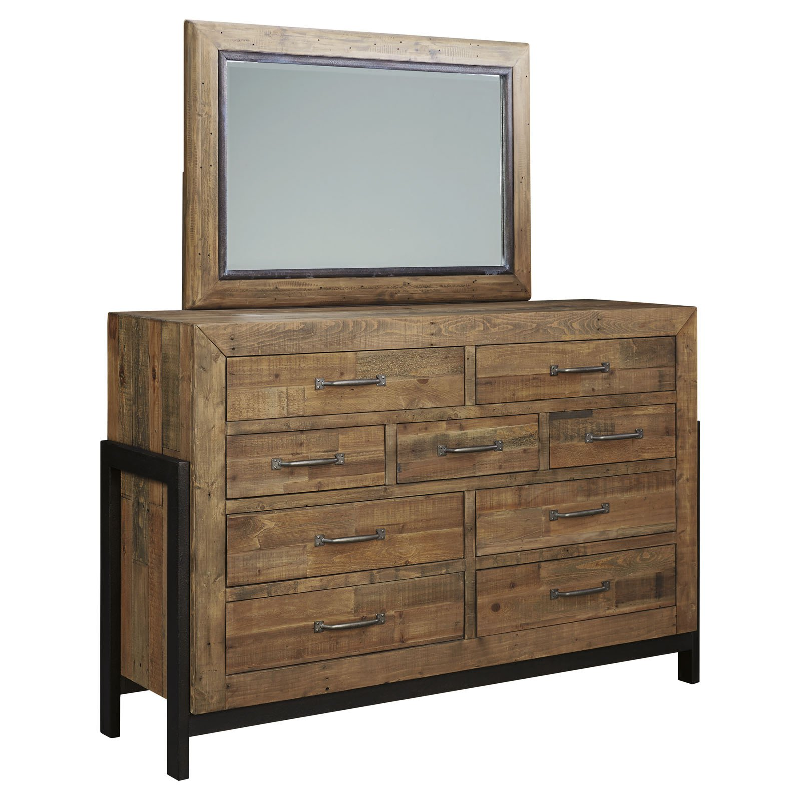 Signature Design by Ashley Sommerford 9 Drawer Dresser with Optional Mirror