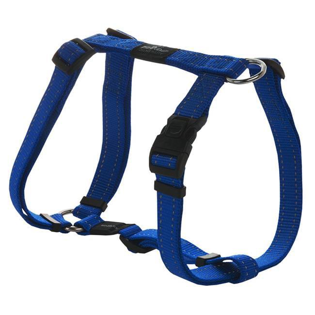 Doco DCSN202-02XS Signature Nylon Step-In Harness Leash, Blue - Extra Small