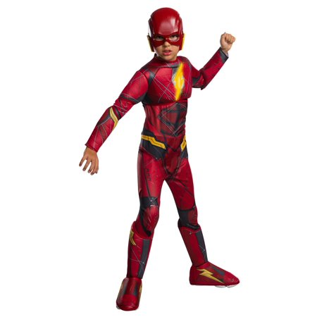 BOYS LIGHT UP FLASH HALLOWEEN COSTUME - Flash Boys Costume