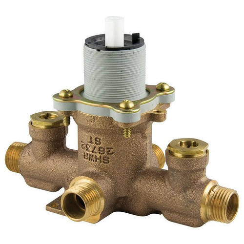 """Pfister 1/2"""" Mixing Rough-In Valve with Service Stops"""