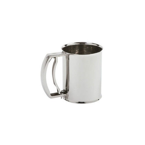 Norpro 135 Stainless Steel 3 Cup Deluxe Triple Screen Flour Sifter by Norpro