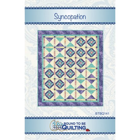 Syncopation Quilt Pattern by Bound To Be Quilting (Purse Quilting Pattern)