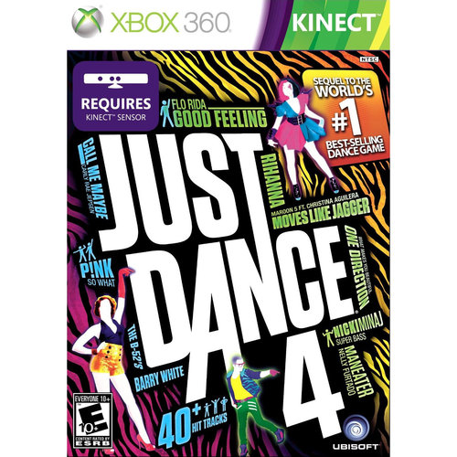 Just Dance 4 (Xbox 360)