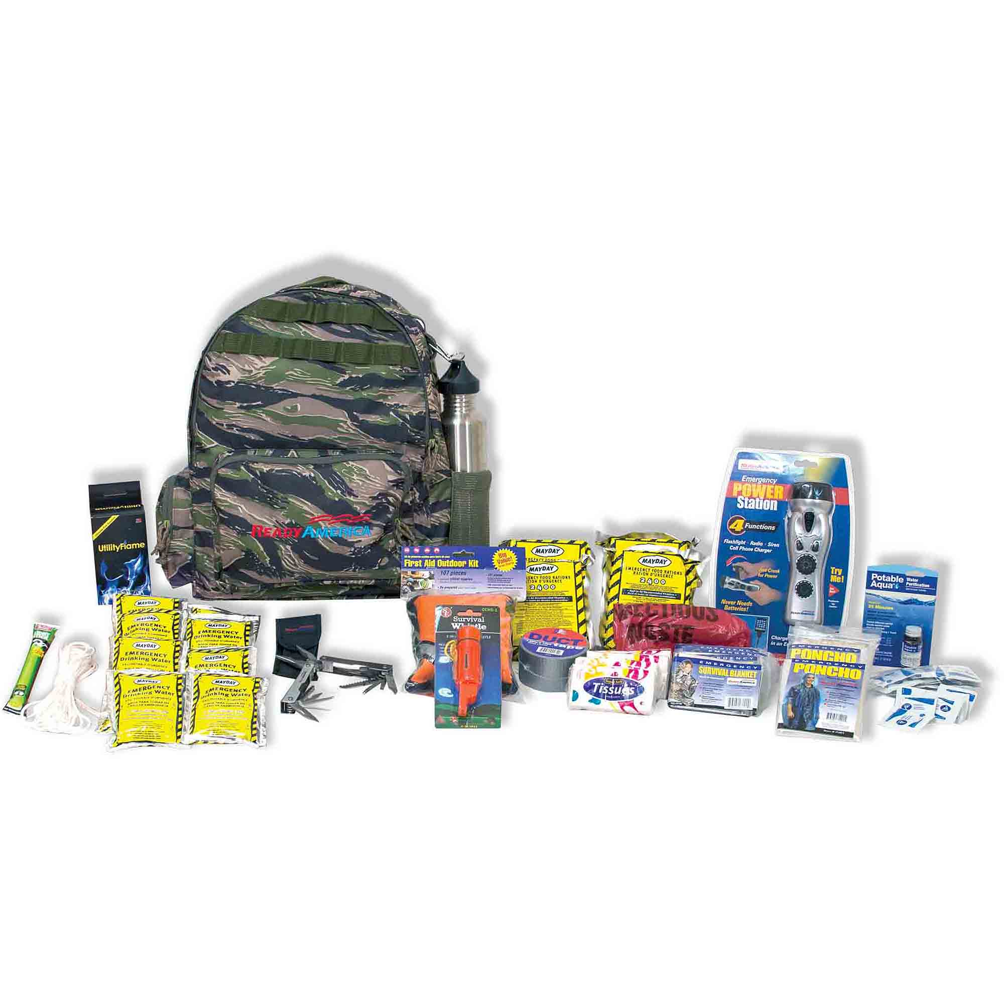 Ready America Emergency 4-Person Outdoor Survival Kit