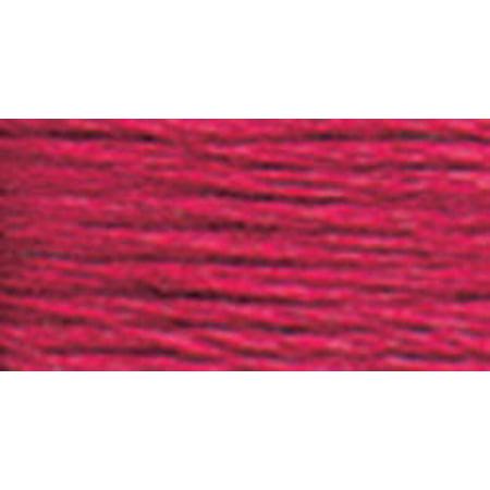 - DMC Pearl Cotton Skein Size 3 16.4yd-Very Dark Cranberry