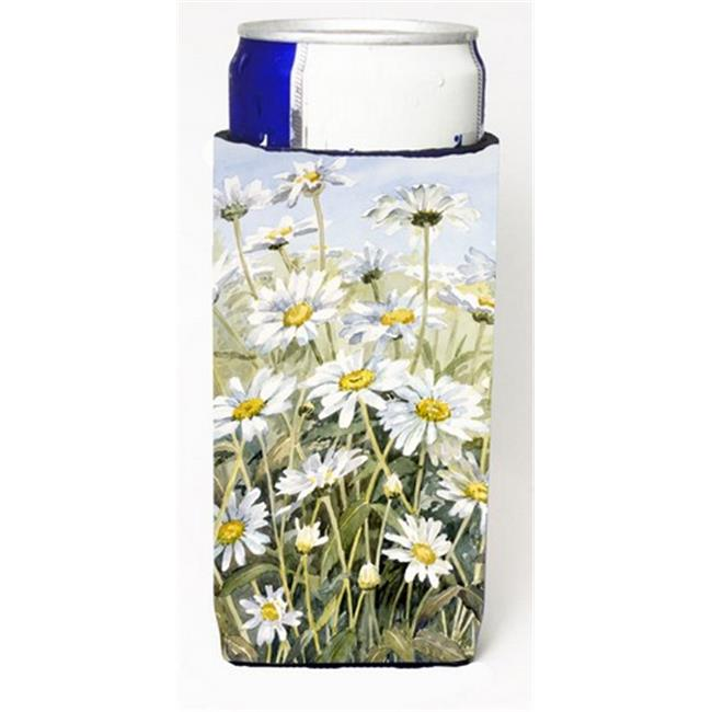 Carolines Treasures CBC0043MUK Daisies by Bettie Cheesman Michelob Ultra Can coolers for Slim Cans - image 1 de 1