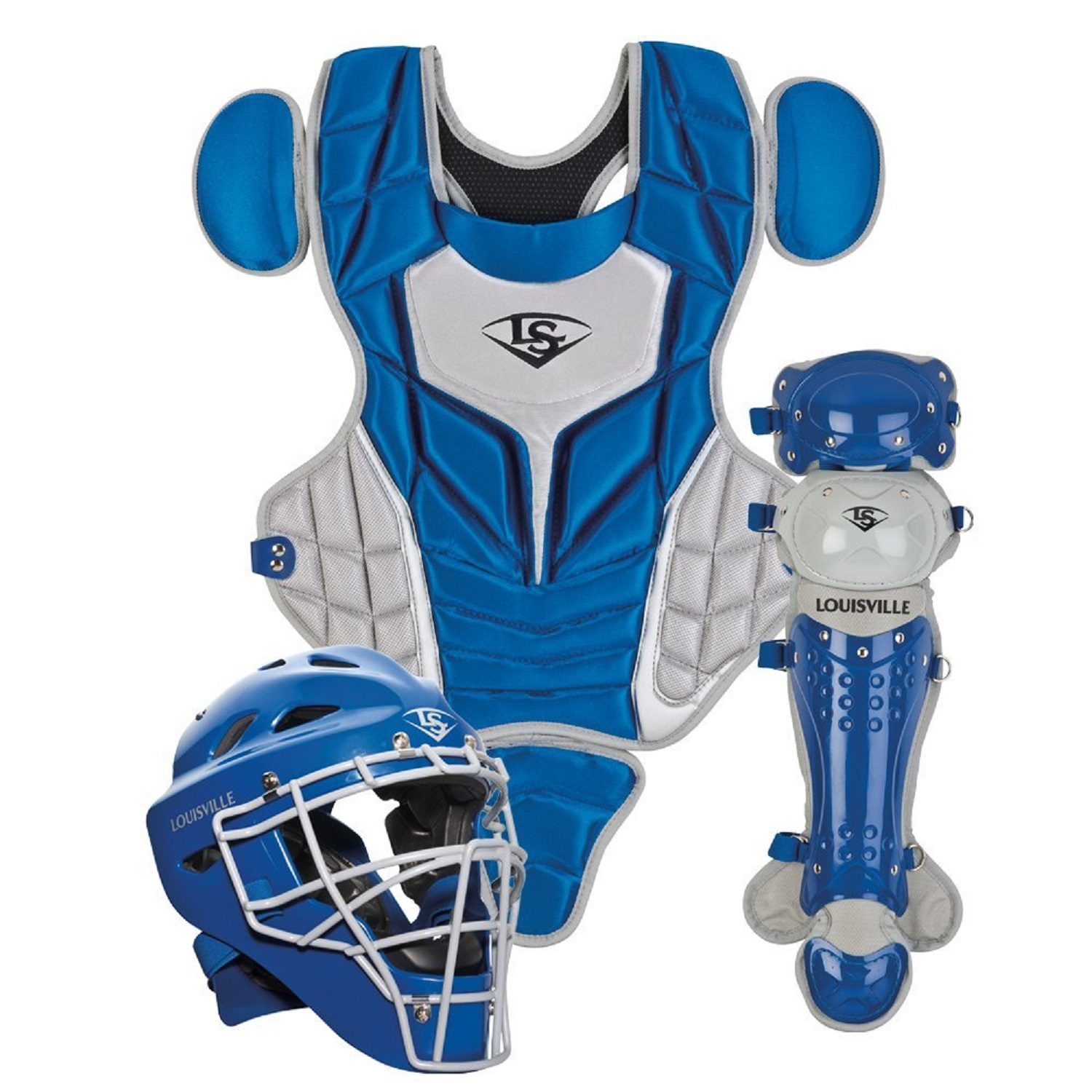 Louisville Slugger Youth PG Series 5 Catchers Set-Black/Gray