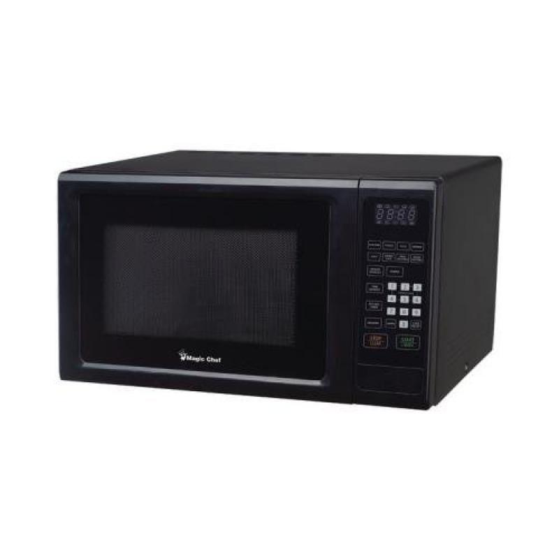 Magic Chef Mcm1110b 1.1 Cubic-Ft 1000-Watt Microwave With...