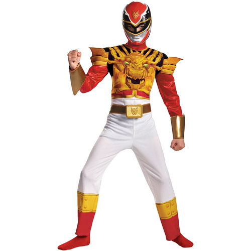 Power Rangers Red Ranger Super Megaforce Child Halloween Costume