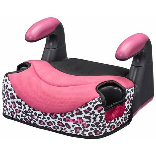 Evenflo Big Kid Elite Backless Booster Car Seat, Mindy