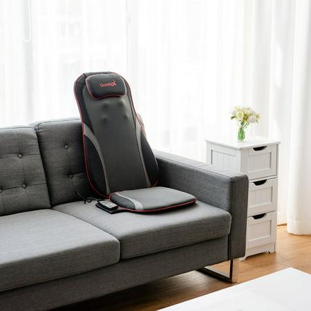 Shiatsu Neck Back Massage Seat Cushion w/ Hip Vibration & Heating Function - image 1 of 10