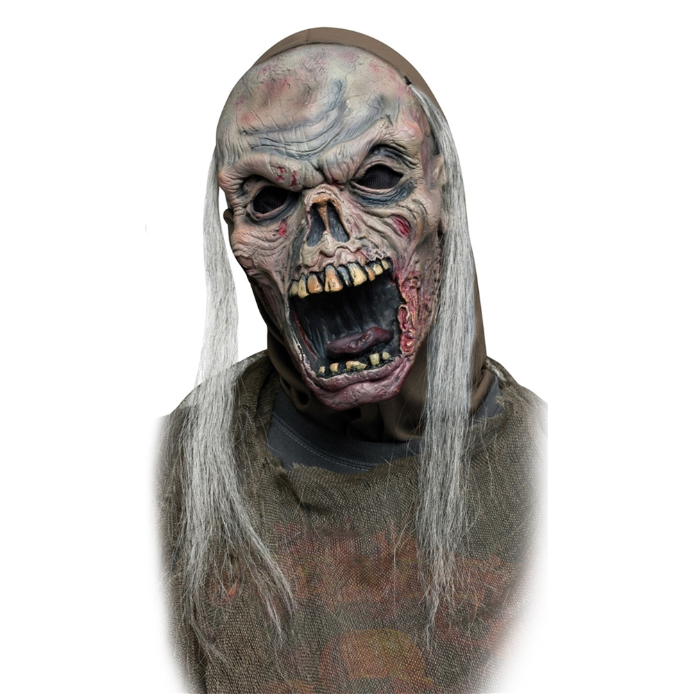 Shrieking Red Zombie Mask