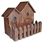 Cheung's FP-3153 Wooden Double Bird House
