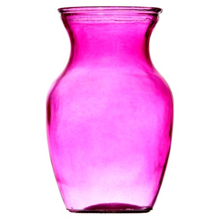 New 324201  Glass Vase 9 Pink Clr T99 (15-Pack) Glassware Cheap Wholesale Discount Bulk Kitchenware Glassware Acne Wash - Pink Discount