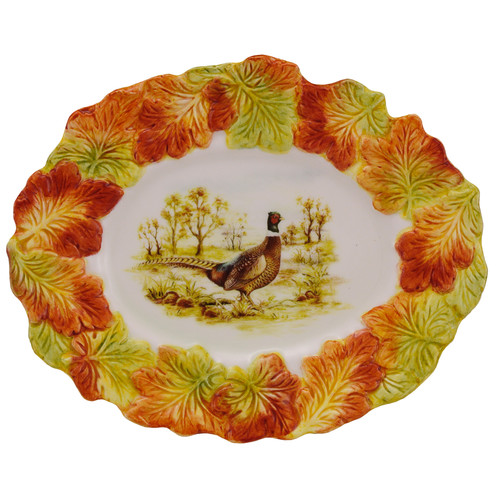 Kaldun & Bogle Hunt Harvest Serving Platter