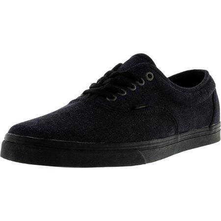b01629c413 Vans - Vans Men s Lpe Dressed Up Black Ankle-High Canvas Skateboarding Shoe  - 13M - Walmart.com