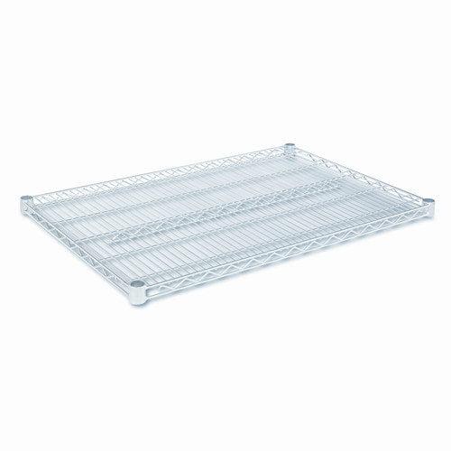 Alera Shelves, Wire, 2 Pack,,36 x 24,Sr,Zinc/Lacquer,1000lbs per Shelf