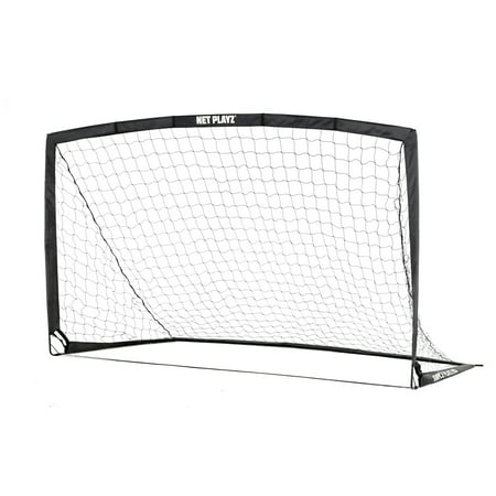 - Net Playz Portable Training Soccer Goal ( Sets up in 5 minutes) - Includes Carry Bag and 4 Hooks