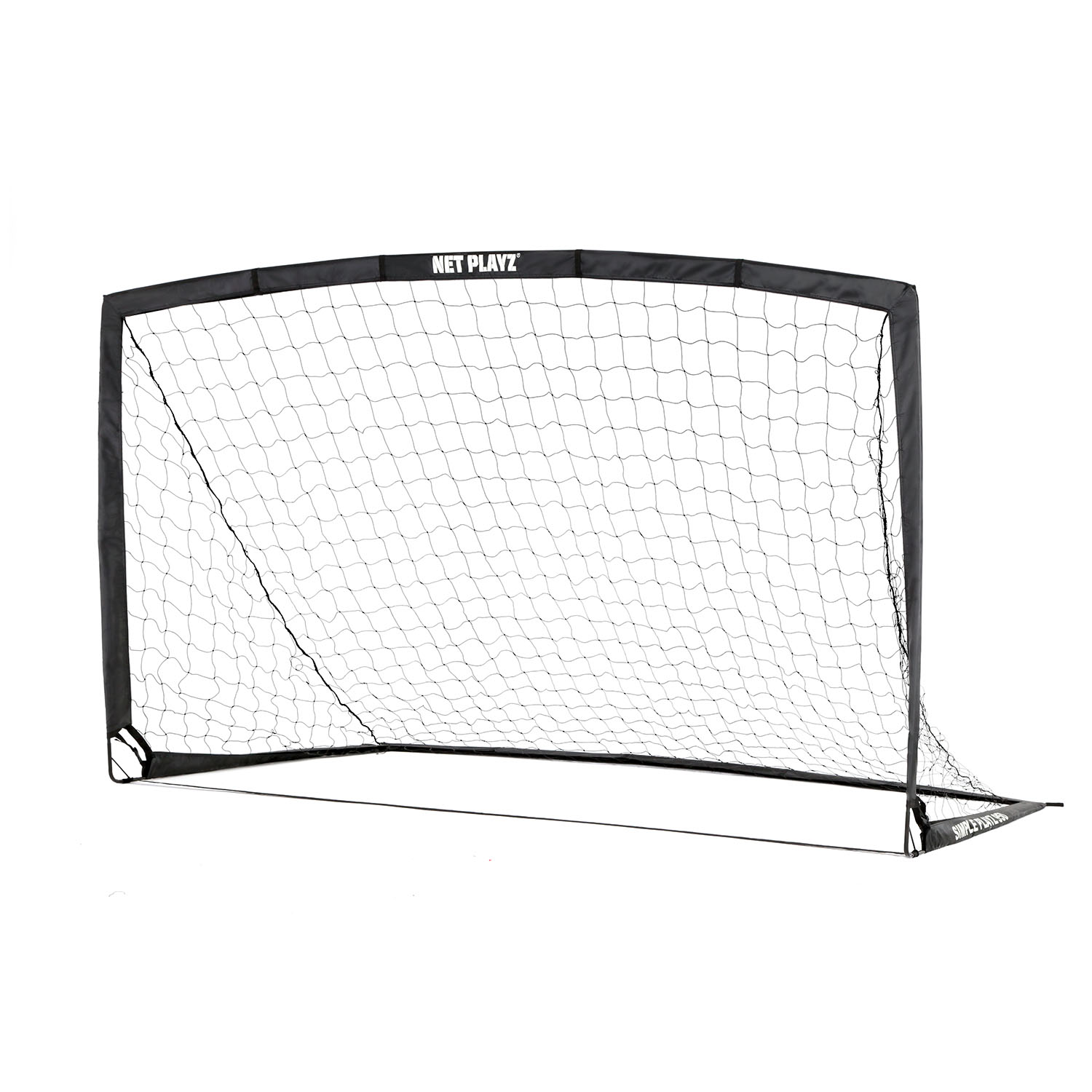 Net Playz Portable Training Soccer Goal ( Sets up in 5 minutes) - Includes Carry Bag and 4 Hooks