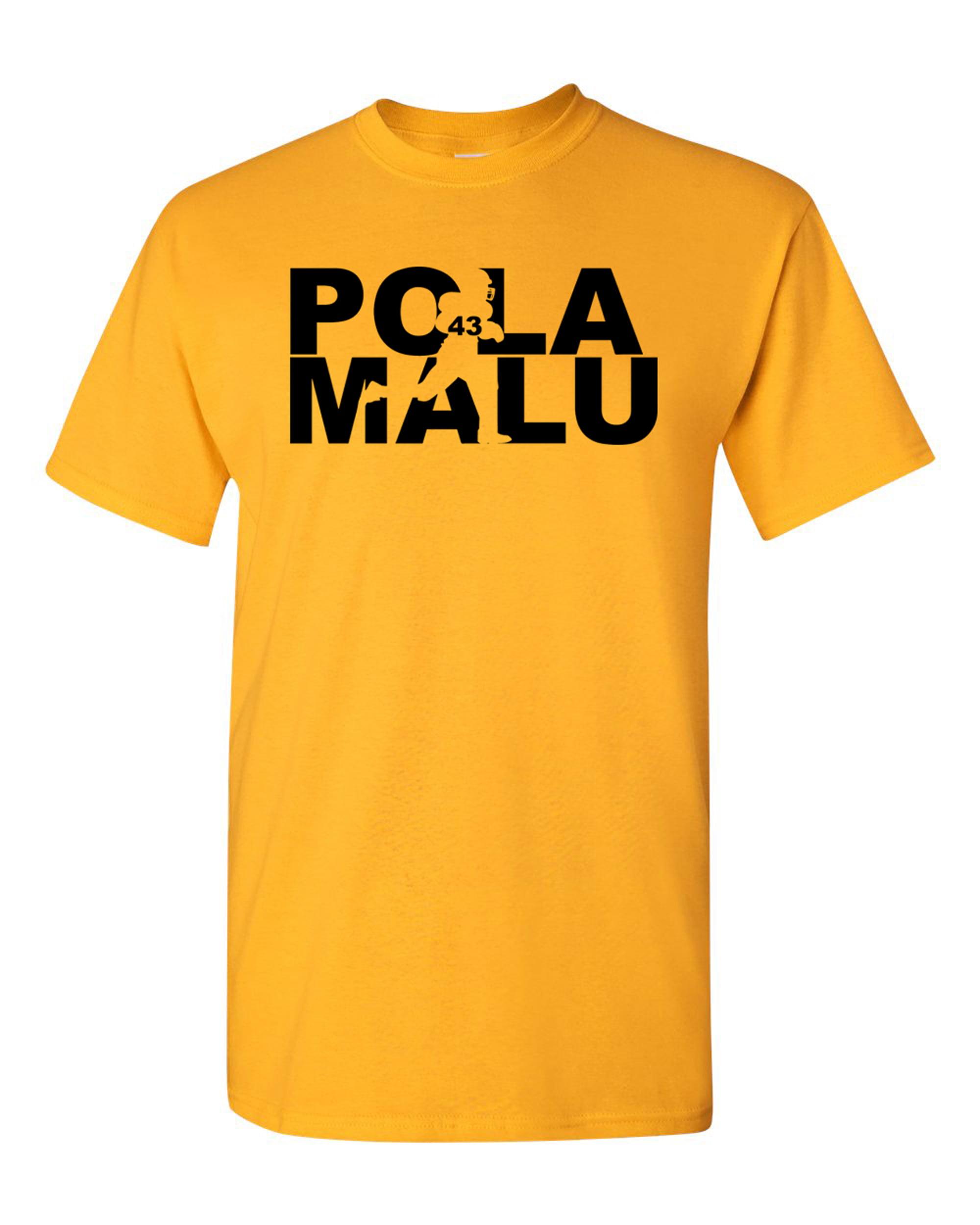 Polamalu Fan Wear Football Sports Adult T-Shirt Tee
