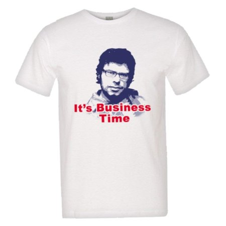 PleaseMeTeesTM Mens Its Business Time Flight The Conchords Murray HQ Tee
