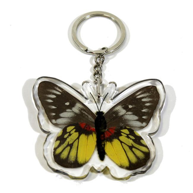 Ed Speldy East Company BTK111 Real Bug Red-Base Jezebel Butterfly Key Chain