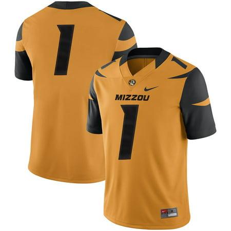 Missouri Tigers Nike Team Game Football Jersey - - Missouri Tigers Jersey