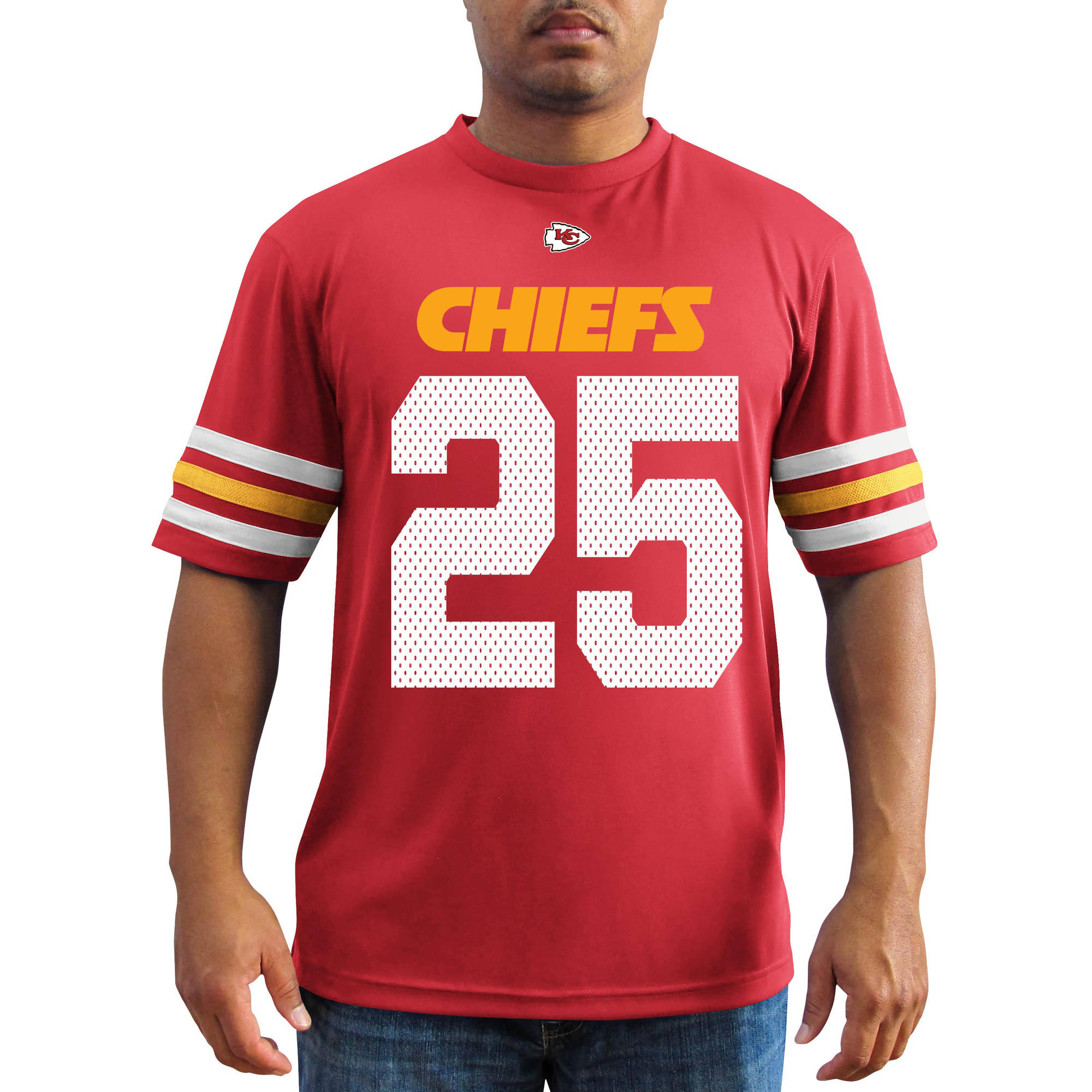 NFL Men's Kansas City Chiefs Charles Jersey