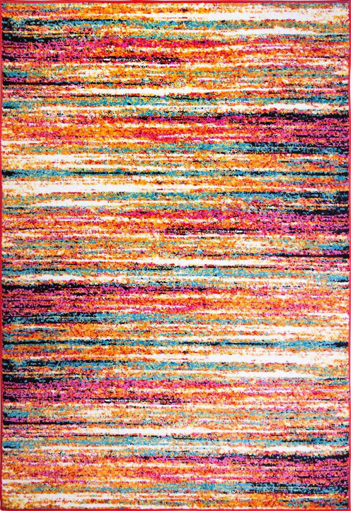 Modern Rug Contemporary Area Rugs Multi Geometric Swirls Lines Abstract Carpet