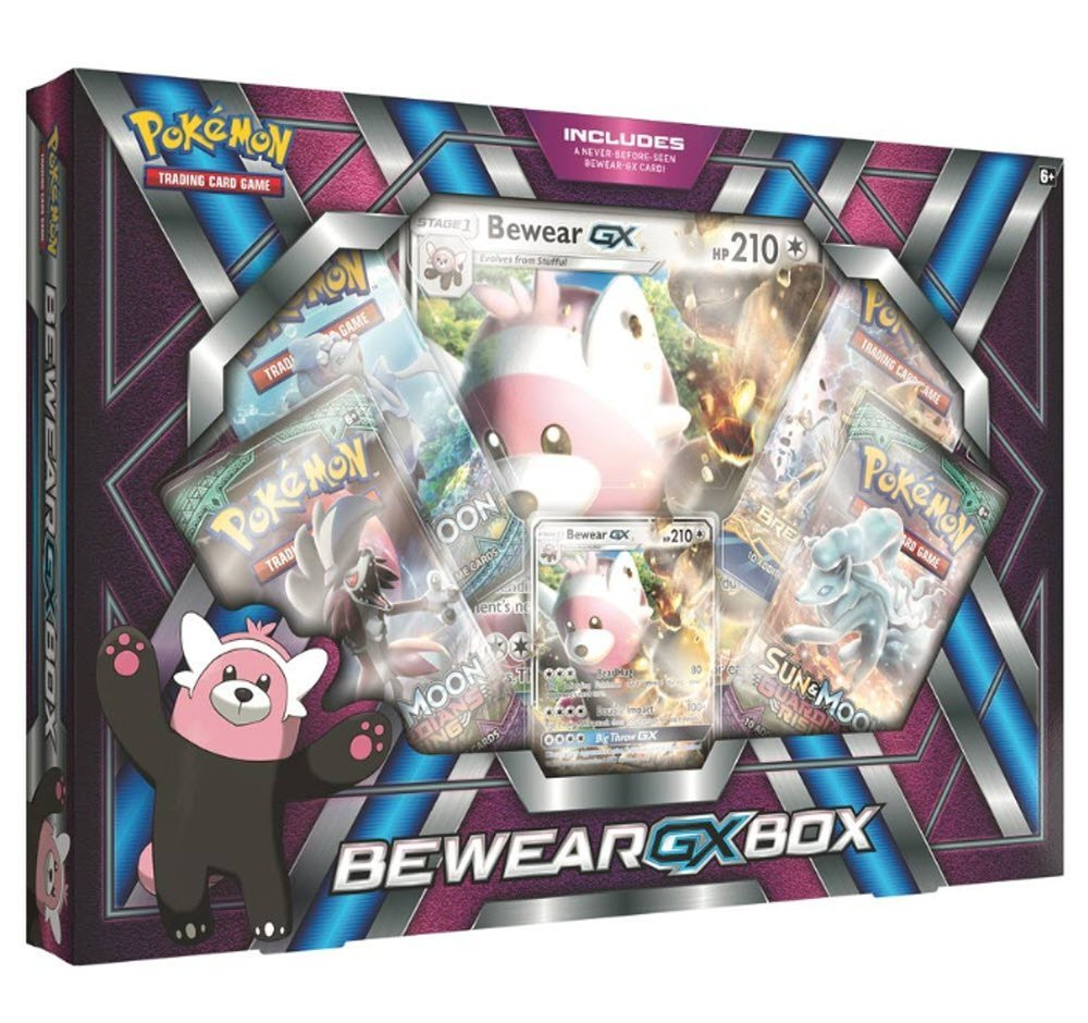 Pokemon TCG: Bewear Gx Premium Collection Box