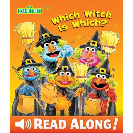 Which Witch is Which? (Sesame Street Series) - eBook - Halloween Whish