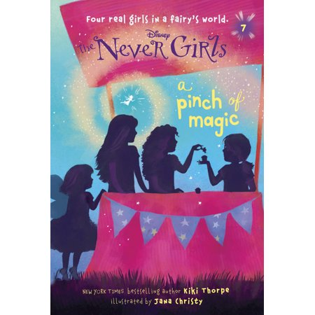 Never Girls #7: A Pinch of Magic (Disney: The Never Girls)](Disney Magic Band Stickers)