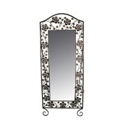 ESSENTIAL D COR & BEYOND, INC Metal Mirror with Stand