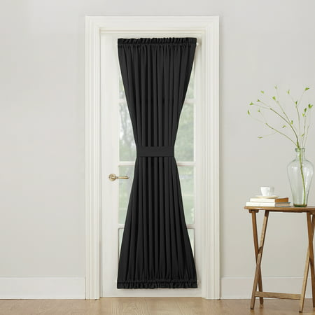 Sun Zero Bartlett Rod Pocket Room Darkening Curtain Door Panel