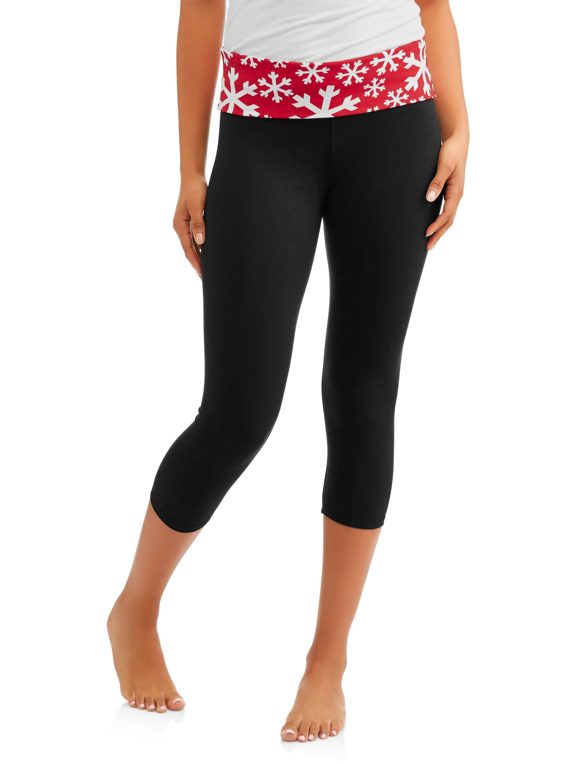 Juniors' Essential Skinny Capri Yoga Pants