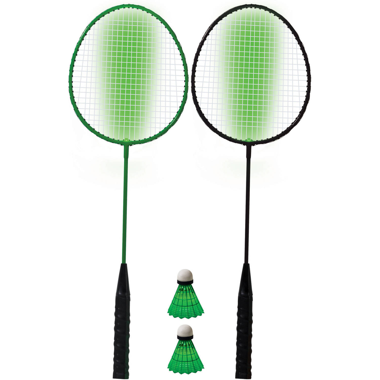Franklin Sports 2 Player LED Badminton Set