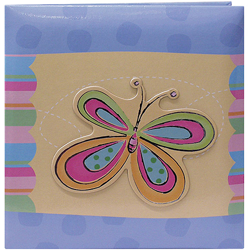 "3-D Applique Striped Album, s 12"" x 12"""