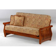 Futon Wood Frame in Cherry (Twin Lounger/Cherry)