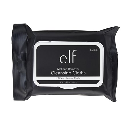 Image of (2 pack) e.l.f. Makeup Remover Cleansing Cloths 2 Pack, 20 Count Per Pack