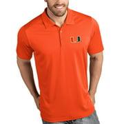 Miami Hurricanes Antigua Tribute Polo - Orange