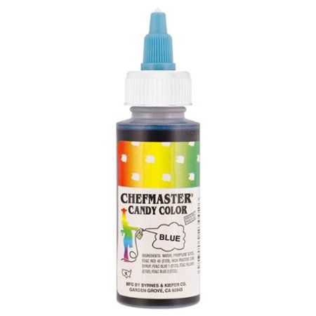 Chefmaster by US Cake Supply 2-Ounce Liquid Candy Food Color Color Blue](Candy Color)